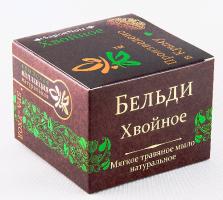 Мягкое травяное мыло Хвойное 120 гр.