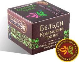 Мягкое травяное мыло Крымские травы 120 гр